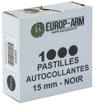 Photo Pastilles autocollantes diam. 15 ou 19 mm