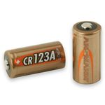 Photo Pile Lithium CR123 3 volts - Ansmann
