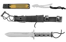 Photo Couteau de survie combat King II Inox
