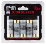 5 cartouches Defend-Ball cal. 12/67 à balle Elastomere Bior