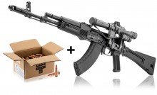 Pack  IZHMASH KALASHNIKOV SAIGA MK 103 7.62X39 + OPTIQUE NPZ+ MUNITIONS