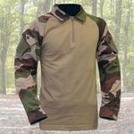 Photo Chemise de combat type ubas coton