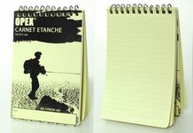 Photo Carnet étanche