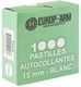 Photo A52416-Pastilles autocollantes diam. 15 ou 19 mm