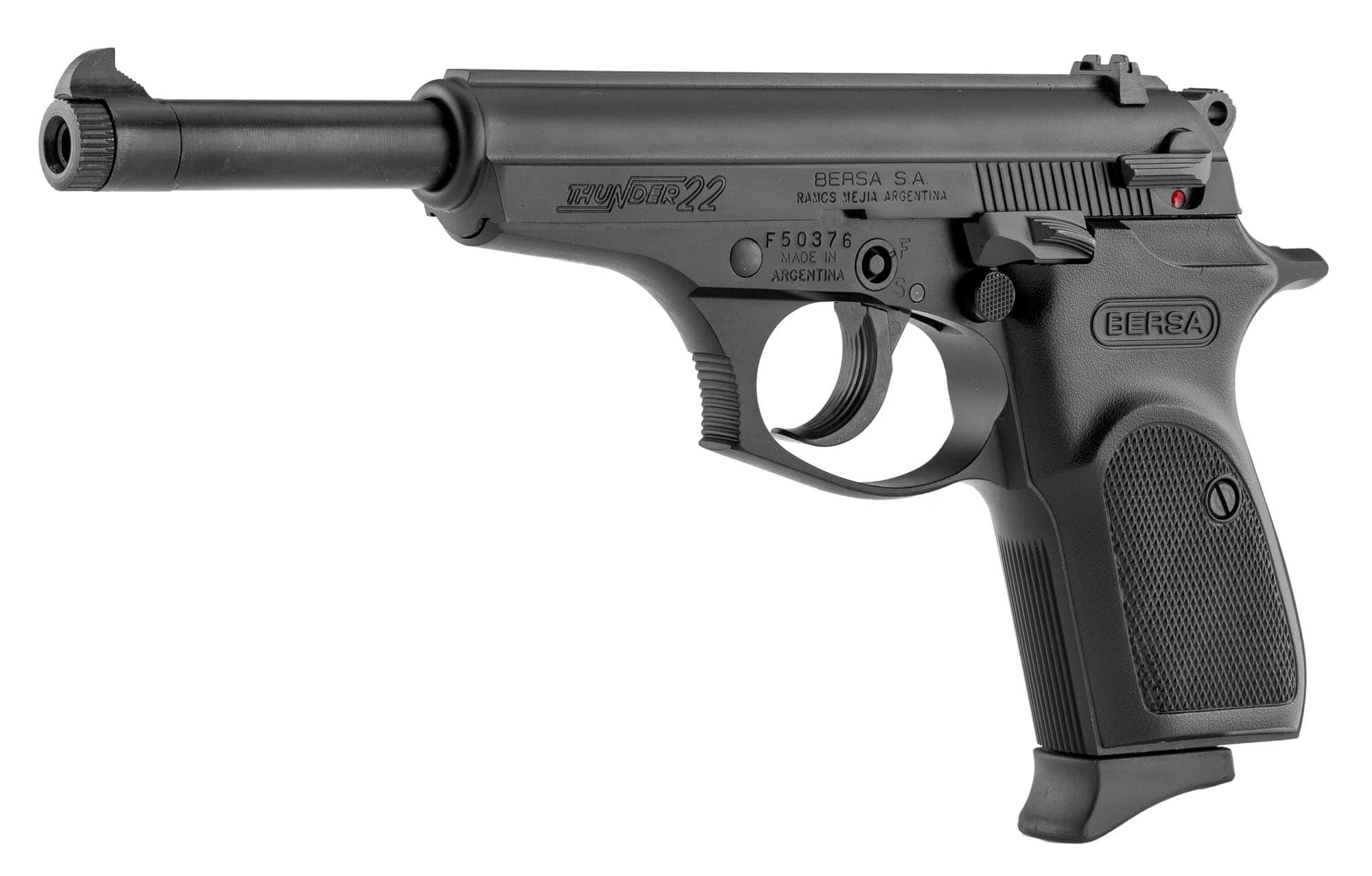 BE130-BERSA THUNDER 22/6 MAT CAL 22 LR 1 CHG 10 COUPS - BE130