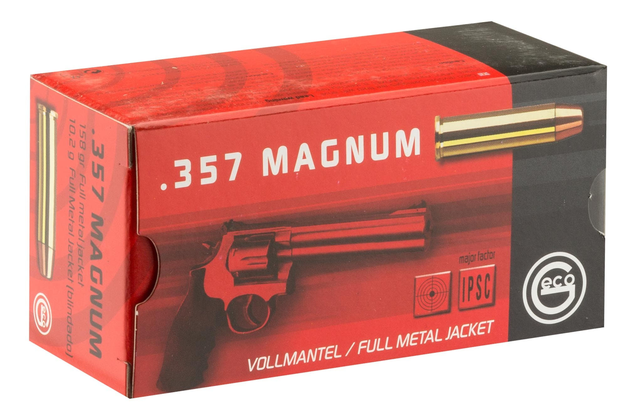 MR830-1 Cartouches Geco 357 Magnum - MR835
